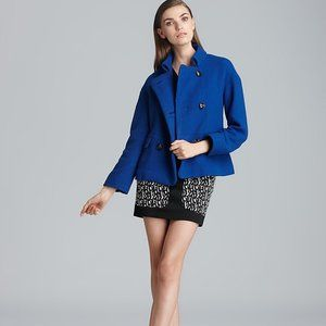 French Connection Royal Blue Peacoat